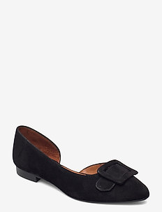 Pumps 2537 - ballerinas - black suede 50