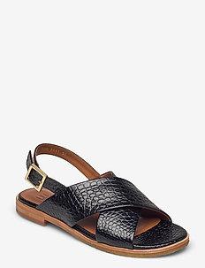 Sandals 2841 - flade sandaler - black yango 10