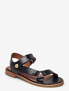 Sandals 2842 - flade sandaler - black yango 10