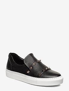 Sport 28619 - slip-on sneakers - black buffalo/gold 802