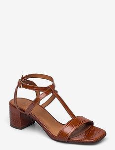 Sandals 2930 - sling backs - brandy monterrey croco 25