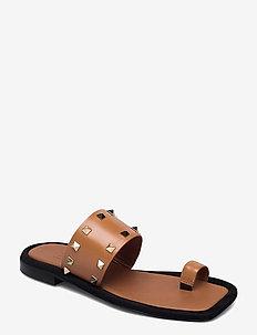 Sandals 2953 - flade sandaler - cuoio guanto calf  84