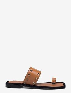 Sandals 2953 - płaskie sandały - cuoio guanto calf  84