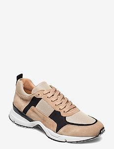 Sport 3030 - lave sneakers - beige/black/gold comb.552