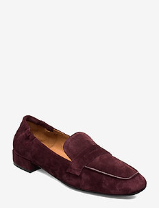 Shoes 3315 - loafers - prugna babysilk suede 588