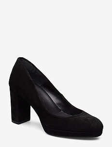 Pumps 3335 - BLACK BABYSILK SUEDE 500
