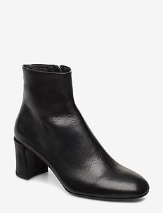 Booties 3415 - ankle boots with heel - black nappa 70