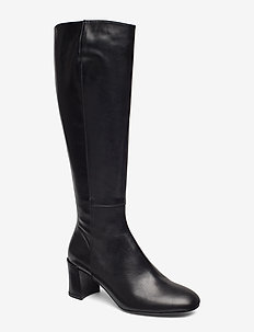 Long Boots 3419 - langskaftede - black calf 80