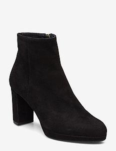 Booties 3450 - BLACK SUEDE 502