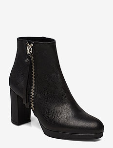 Booties 3451 - ankle boots with heel - buffalo negro/silver 803