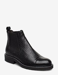 Boots 3519 - bottes chelsea - black elephant 400