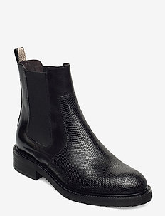 Boots 3520 - chelsea boots - bl.lizard/polido/snake 393