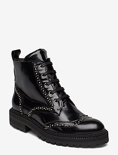 Boots 3551 - SOFT POLIDO BLACK/SILVER 903
