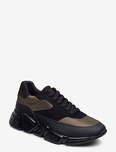 Sport 3660 - chunky sneakers - army/black comb.556