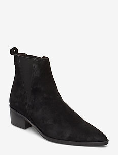 Boots 3691 - BLACK SUEDE 50