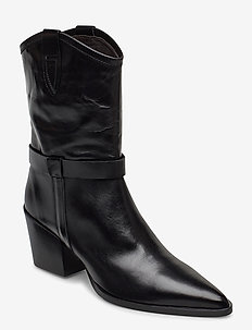 Booties 3713 - lange stiefel - black desire 60