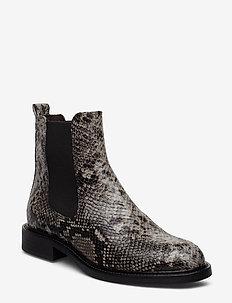 Boots 37952 - bottes chelsea - grey kidima snake 34 v