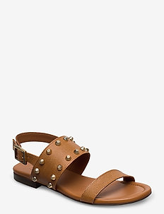 Sandals 4011 - flat sandals - cognac messico 352