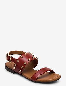 Sandals 4011 - flat sandals - rust 5715 nappa 798