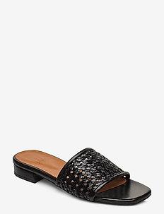 Slipper 4020 - BLACK BRAID 300