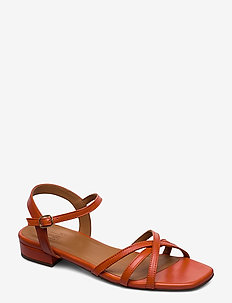 Sandals 4025 - matalat sandaalit - orange 3716 nappa 77
