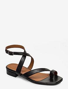 Sandals 4026 - matalat sandaalit - black nappa 70