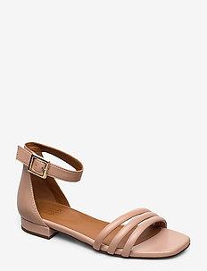 Sandals 4028 - flate sandaler - rose 3624 nappa 78