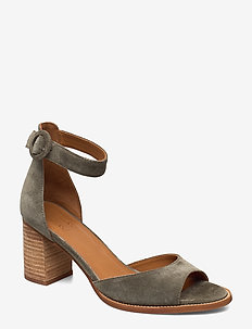SHOES - korolliset sandaalit - military babysilk 557