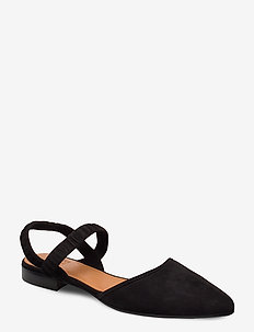 Shoes 4104 - ballerinas - black suede 50