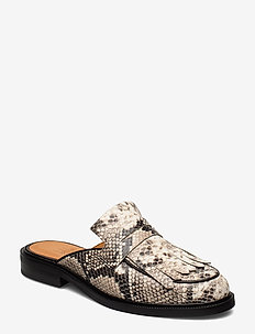 Shoes 4114 - mules & slipins - off white snake 33