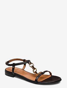 Sandals 4141 - BLACK NAPPA 70