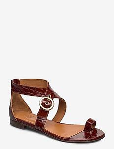 Shoes 4142 - COGNAC MONTEREY/GOLD 252