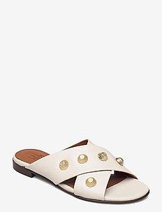 Sandals 4143 - flade sandaler - latte guanto calf 82