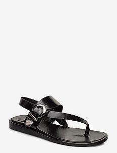 Sandals 4171 - BLACK CALF 80