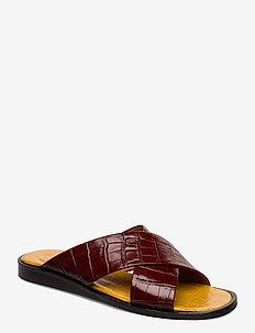 Sandals 4172 - platte sandalen - brandy monterey 25