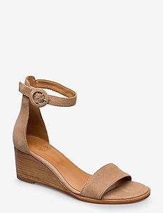 Sandals 4187 - CAMEL SUEDE 052