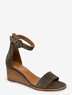 Sandals 4187 - MILITARY BABYSILK 557