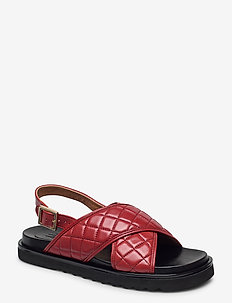 Sandals 4190 - płaskie sandały - rust 5715 nappa 798