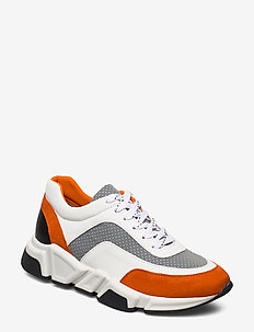 Sport 4260 - chunky sneakers - orange/white/grey comb.573