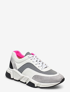 Sport 4260 - chunky sneakers - grey/white/pink comb.539