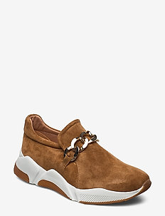 Sport 4281 - slip-on sneakers - dark beige babysilk/gold 552