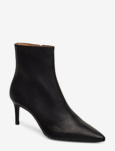 Booties - ankle boots with heel - black varese 90