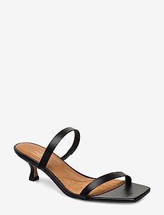 Sandals 4480 - mules & slipins - black nappa 70