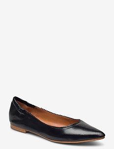 Shoes 4500 - baleriny - black nappa 70