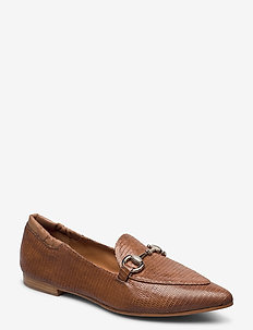 Shoes 4502 - loafers - lt.brown 11215 lizard 350