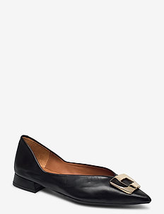 Shoes 4511 - baleriny - black calf 80