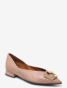 Shoes 4511 - baleriny - rose 3624 nappa 78