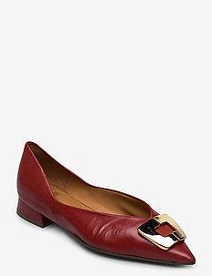Shoes 4511 - baleriny - rust 5715 nappa 798