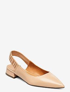 Shoes 4512 - sling backs - beige 5845 nappa 72