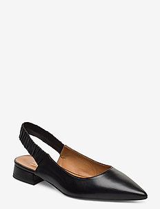 Shoes 4512 - sling backs - black nappa 70
